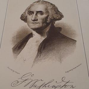 Old pic of George Washington